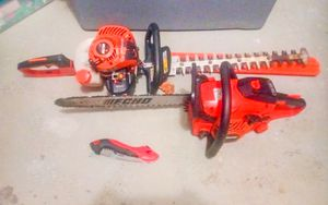 Echo Trimmers and Chainsaw for Sale in Annandale, VA