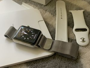 Apple watch 3 stainless steel 42mm for Sale in Saint Paul, MN