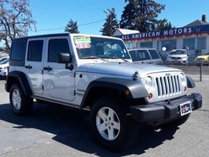 2011 Jeep Wrangler Unlimited for Sale in Tacoma, WA