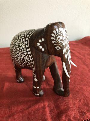 Wood Decorative Elephant for Sale in Sammamish, WA