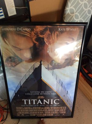 Titanic movie poster for Sale in Orlando, FL