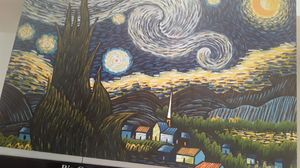 Stary night oil painting for Sale in Plano, TX