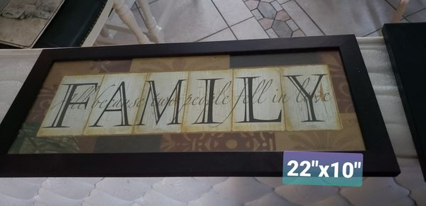 Family /Friend Wall Art Pictures