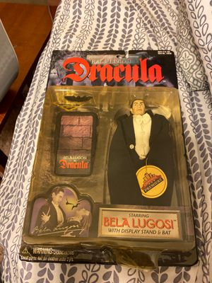 Dracula Bela Lugosi Exclusive Premier 1998 Action Figure W Package & Accessories for Sale in Zephyrhills, FL