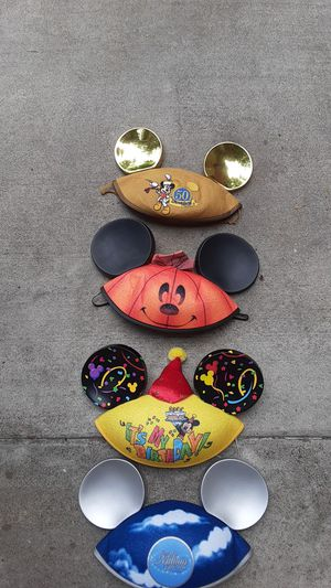 Disney land Mickey ears 4of them for Sale in Garden Grove, CA