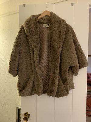 Faux fur coat for Sale in Santa Cruz, CA