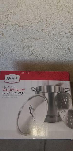 Parini 16 quart aluminum stock pot for Sale in Gardena, CA