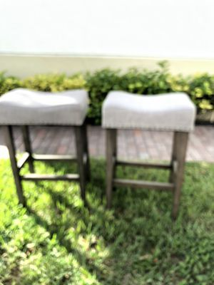 Saddle back bar stools for Sale in Delray Beach, FL