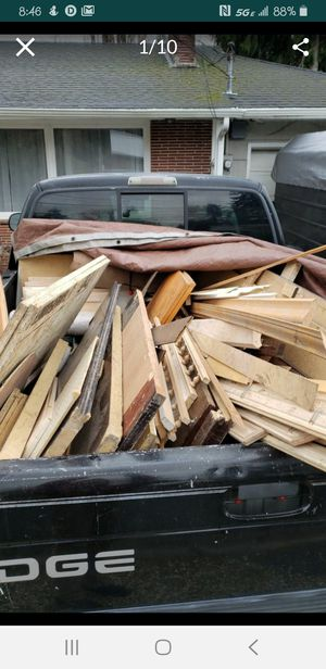 Even More! Lots of (FREE!) -wood, trim, cab. doors, wood floor, cabinets, Doors, panels, car bed, tile, electronics... And more... for Sale in Camas, WA