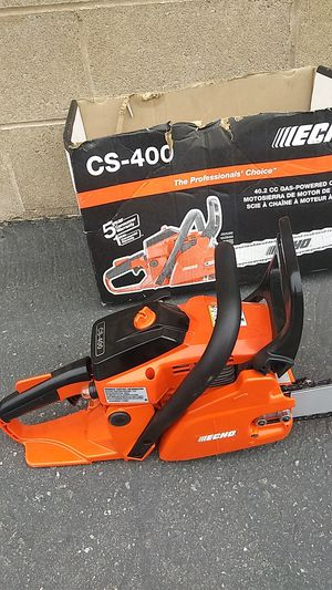Echo cs-400 18in chainsaw for Sale in North Las Vegas, NV
