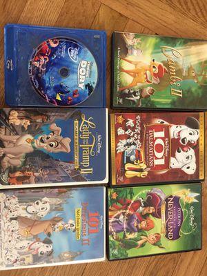 Disney kids DVDs for Sale in Jackson Township, NJ