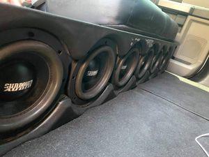 Custom Truck subwoofer boxes. for Sale in Sebastian, FL