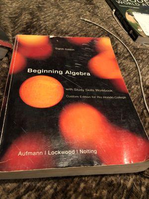 Beginning algebra for Sale in South Gate, CA