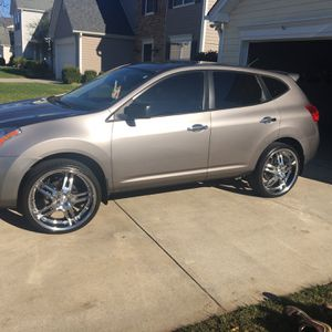 """READ FIRST Only The 22"""" Rims . NOT THE CAR . MAKE ME A OFFER I HAVE ALL THW WHEEL LIGS AND LOCKS FOR THEM for Sale in Matthews, NC"""