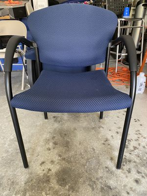 Allsteel Tolleson Side Chairs Set of 9 Office Chair for Sale in San Marcos, CA