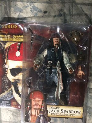 Pirates of the Caribbean Jack Sparrow Action Figure for Sale in Corona, CA