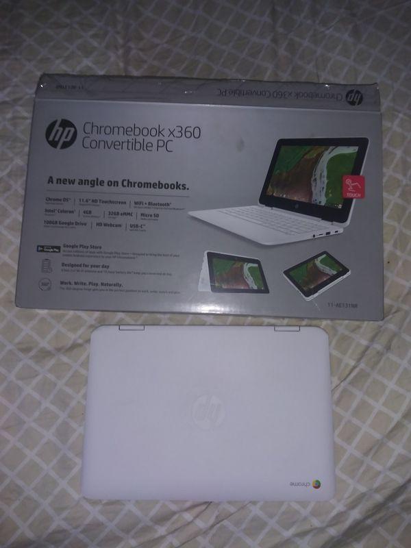 HP Chromebook x360 Convertible PC