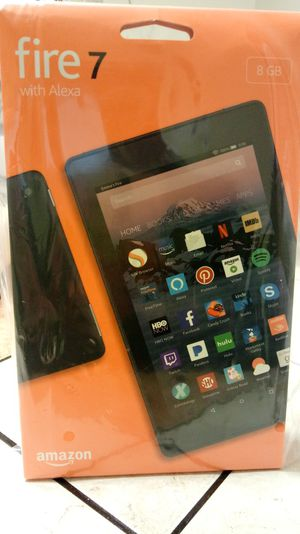 Amazon Kindle Fire 7 with Alexa 8GB for Sale in Leesburg, GA