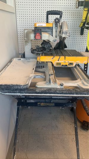Tile saw for Sale in Pflugerville, TX