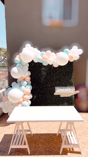 Balloon Garland + backdrop + table for any occasion! for Sale in Redondo Beach, CA