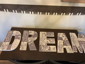 "Sign """"DREAM"" wood for Sale in Beaumont, TX"
