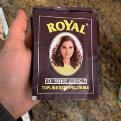 Royal Henna Brown (5 Packs) for Sale in Cerritos,  CA