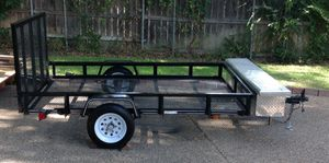 2019 utility trailer for sale it is a 5 feet wide 8 feet long for Sale in Grand Prairie, TX