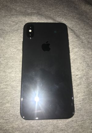 IPhone X 256GB (Unlocked) for Sale in Fresno, CA