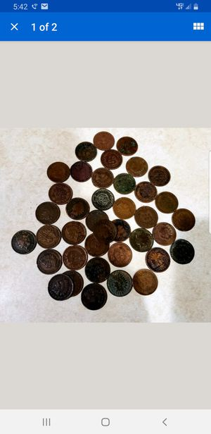 LOT OF 39 INDIAN HEAD PENNY - CENTS LOOK!!! 1881 - 1909 for Sale in Milford, CT