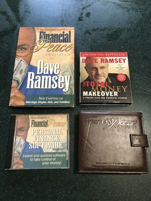 Dave Ramsey Financial Peace University Bundle - Book and CDs for Sale in Troup, TX