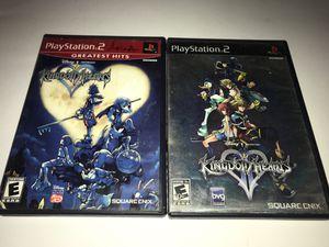 Kingdom Hearts 1&2 Sony PlayStation 2 for Sale in Corona, CA