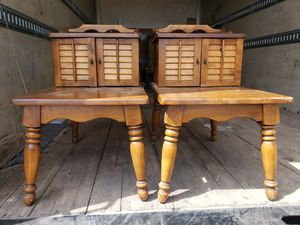 Vintage matching end tables for Sale in Las Vegas, NV