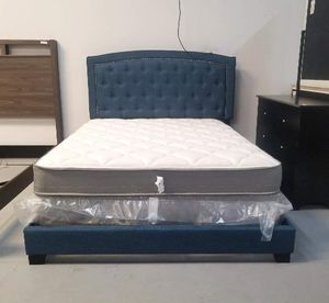 CLASSY QUEEN UPHOLSTERED BED FRAMES FOR ONLY $199!! for Sale in Oviedo, FL