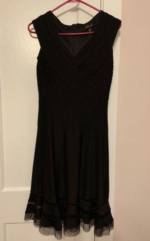 Tadashi Shoji A-line black flare dress for Sale in Raleigh, NC