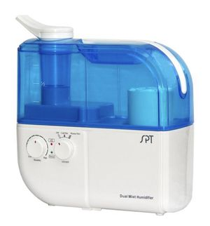 SPT SU-4010 Ultrasonic Dual-Mist Warm/Cool Humidifier with Ion Exchange Filter - Blue for Sale in La Grange Park, IL