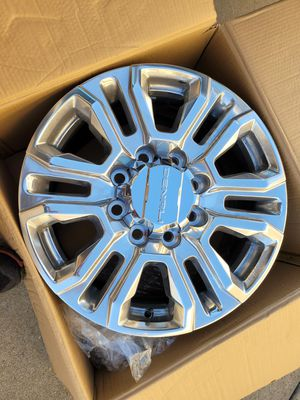 Gmc sierra denali silverado tahoe suburban 2019 2020 rim rims 20 new for Sale in Lawndale, CA
