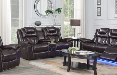 RECLINER SOFA SETS - BEST SELLER - SAME DAY DELIVERY 🚚 NO CREDIT NEEDED for Sale in Spring,  TX