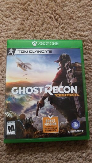 Ghost Recon Wildlands Xbox One for Sale in Washington, DC