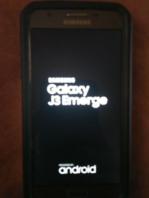 Brand new samsung galaxy J3. with case.. Not one scratch for Sale in Rocky Mount, VA