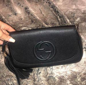 GUCCI BLACK CHAIN CROSSBODY BAG for Sale in Los Angeles, CA