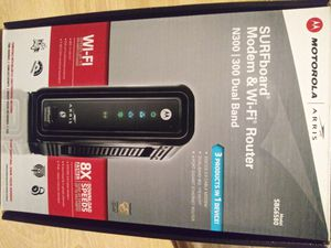 Motorola dual band modem and router. Model SBG6580 for Sale in Portland, OR