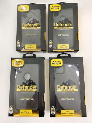 OtterBox for iPhone X, Xs, XR, X Max & 11 Pro Max. Belt Clip & Holster. Black. for Sale in Santa Clarita, CA