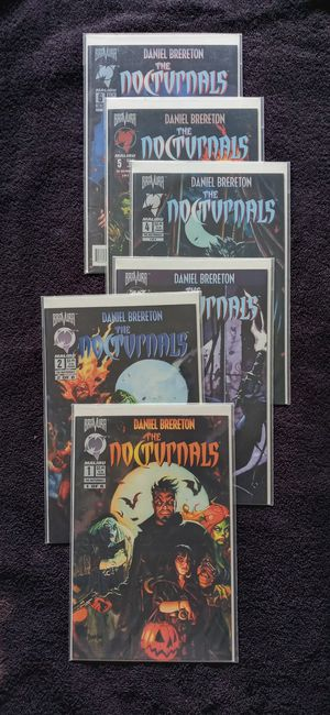 Malibu Comics THE NOCTURNALS Complete 6 Issue Set for Sale in Downey, CA