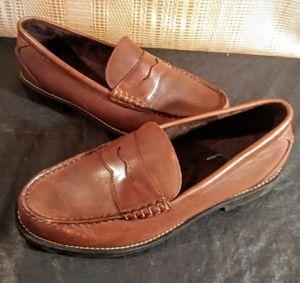 Rockport Brown Men's Penny Loafer Shoes size 13 for Sale in Greenville, SC