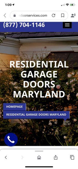 Garage doors for Sale in Burtonsville, MD