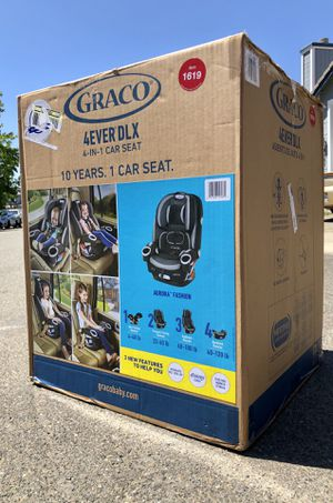Graco 4Ever DLX 4-in-1 Convertible Car Seat for Sale in Elk Grove, CA