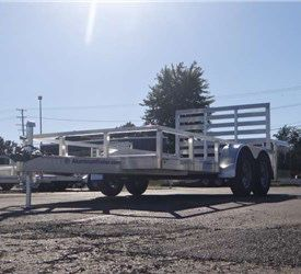 Aluminum trailer for Sale in Glenwood, IL