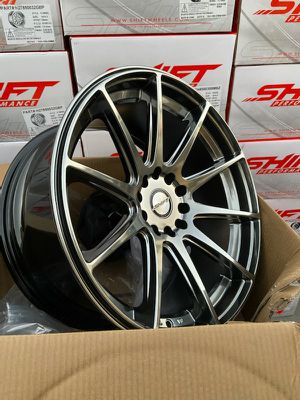 18x9.0 New Shift Wheels, Rims. 5x100/5x114.3 for Sale in Bell Gardens, CA