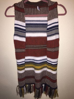 Vintage sweater with fringes , Ex Small. for Sale in Detroit, MI