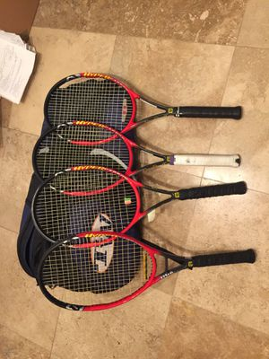 WILSON PRO STAFF 6.1 TennisRackets Excellent Condition for Sale in Phoenix, AZ